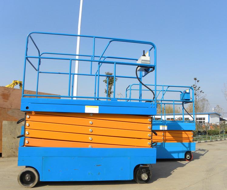 山东小型18米自行高空作业平台 车剪叉式液压升降机价格 升降机厂