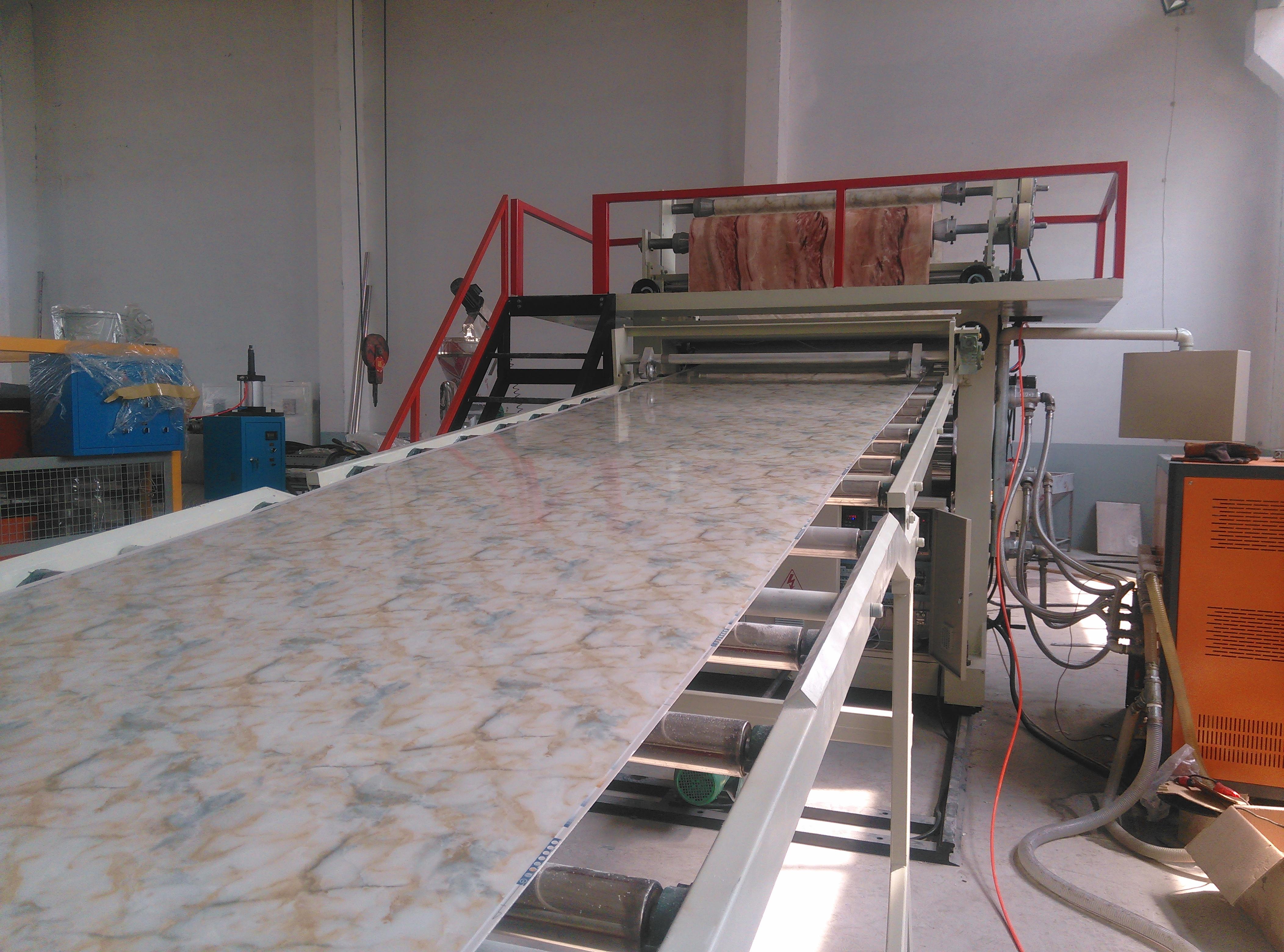 德佳源 UV大理石装饰板设备