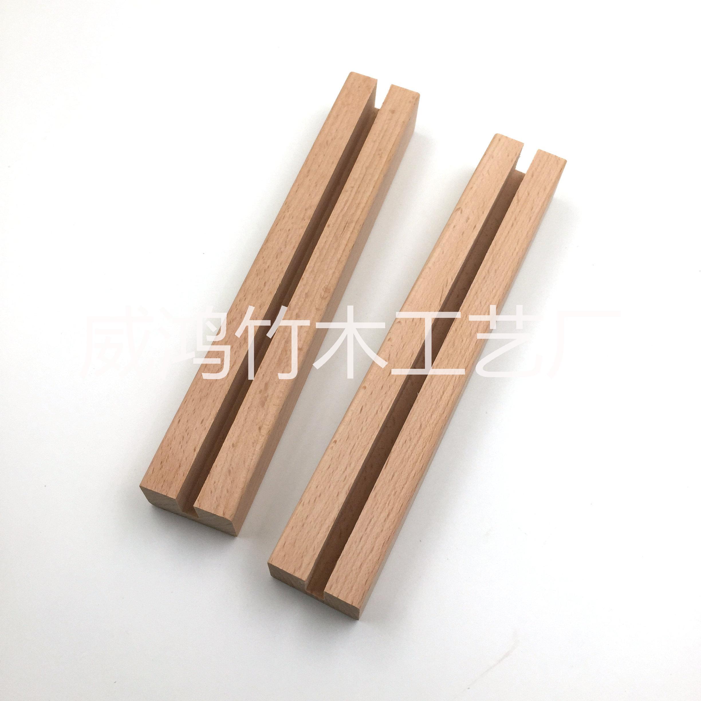 厂家大量生产 桌面台历展示木支架底座 实力厂家质量保证