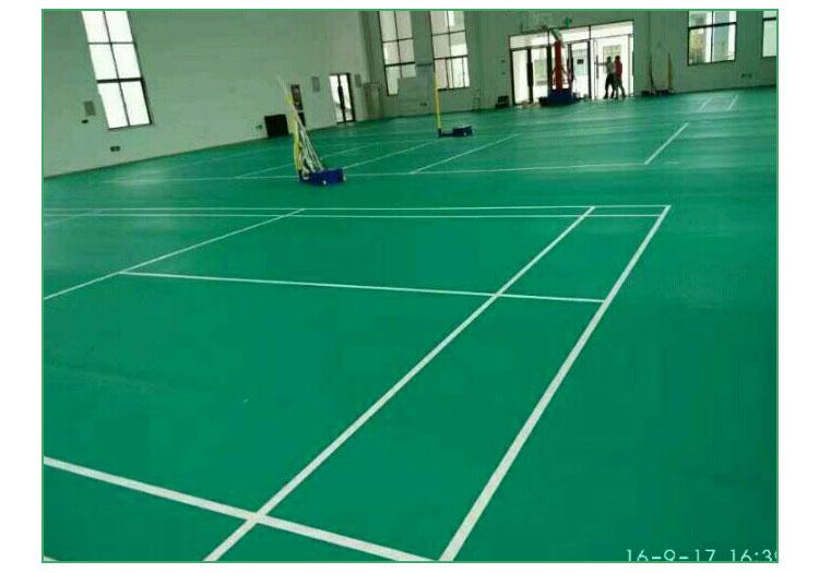 羽毛球场地塑胶价格 羽毛球专用地板 塑胶羽毛球 羽毛球标准场地