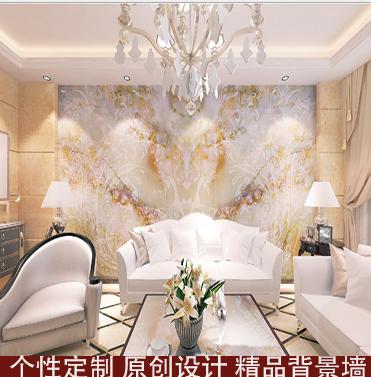 朗之时 佛山瓷砖背景墙 厂家直销 中式客厅3D平面背景墙