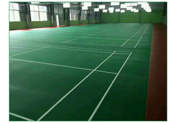 羽毛球场地地胶 羽毛球场地 运动地板胶 羽毛球馆地板