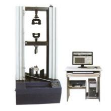 微机控制胶合板拉力试验机.HDW-20胶合板试验机是公司主达产品、配有六套试验夹具、用于静曲强度、弹性模量、表面结合强图片