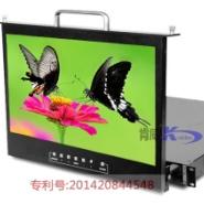 17寸1U折叠液晶监视器图片