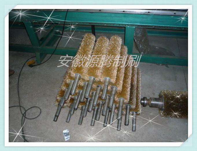 毛刷辊 钢丝刷 除锈抛光轮