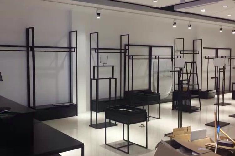 广州服装店装修货架 服装店货架销售
