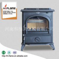 HiFlame HF717木材燃烧散热器和木材加热器独立式风格的壁炉 铸铁壁炉