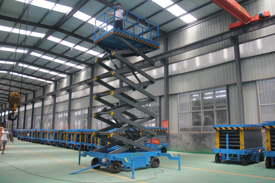 腾力生产高空作业车升降机货梯升降平台液压升降机平台
