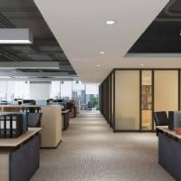 小型办公室装修效果图