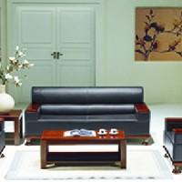 沙发茶几 公司皮面沙发茶几 接待客户沙发襄阳写字楼沙发会客沙发