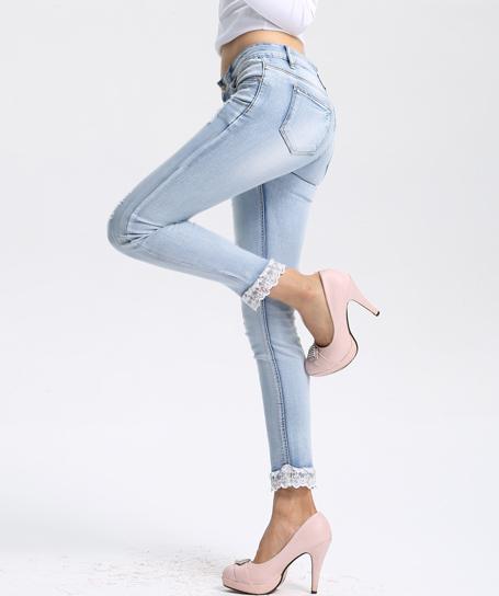 浙江牛仔裤OEM厂,银创服饰采用洗水工艺领先同行10年