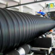 石泉钢带增强PE螺旋波纹管有现货图片