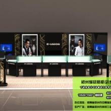 产品货架展柜摆放柜台设计定做、产品展示柜生产厂家_郑州耀扬展柜设计制作公司图片