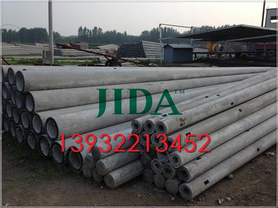 河北承德水泥电线杆生产厂家  8米10米12米国标水泥电杆价格走势(图)
