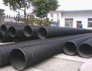 销售吴起钢带增强波纹管、污水管道图片