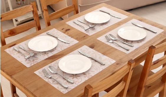 厂家直销定制pp桌垫隔热垫创意图案卡通防水餐垫整理垫碗垫杯垫