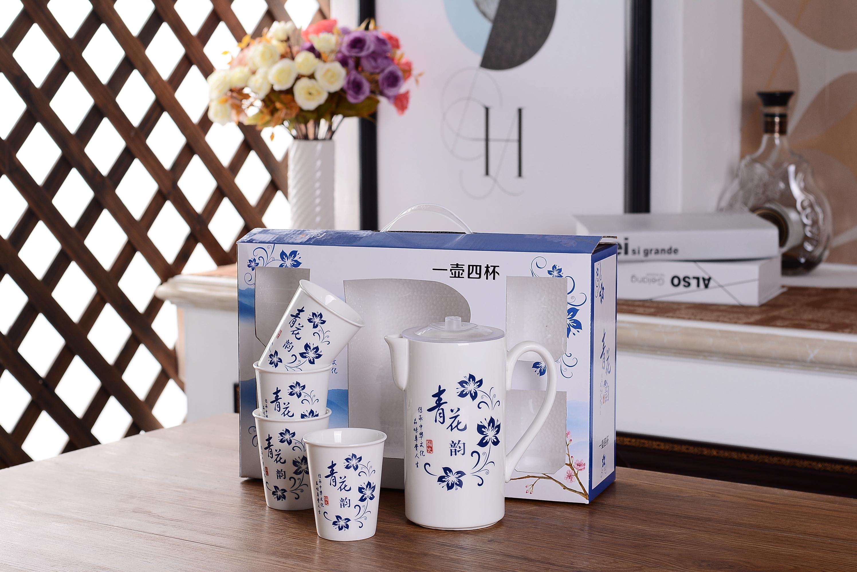 陶瓷水壶套装 冷水壶套装