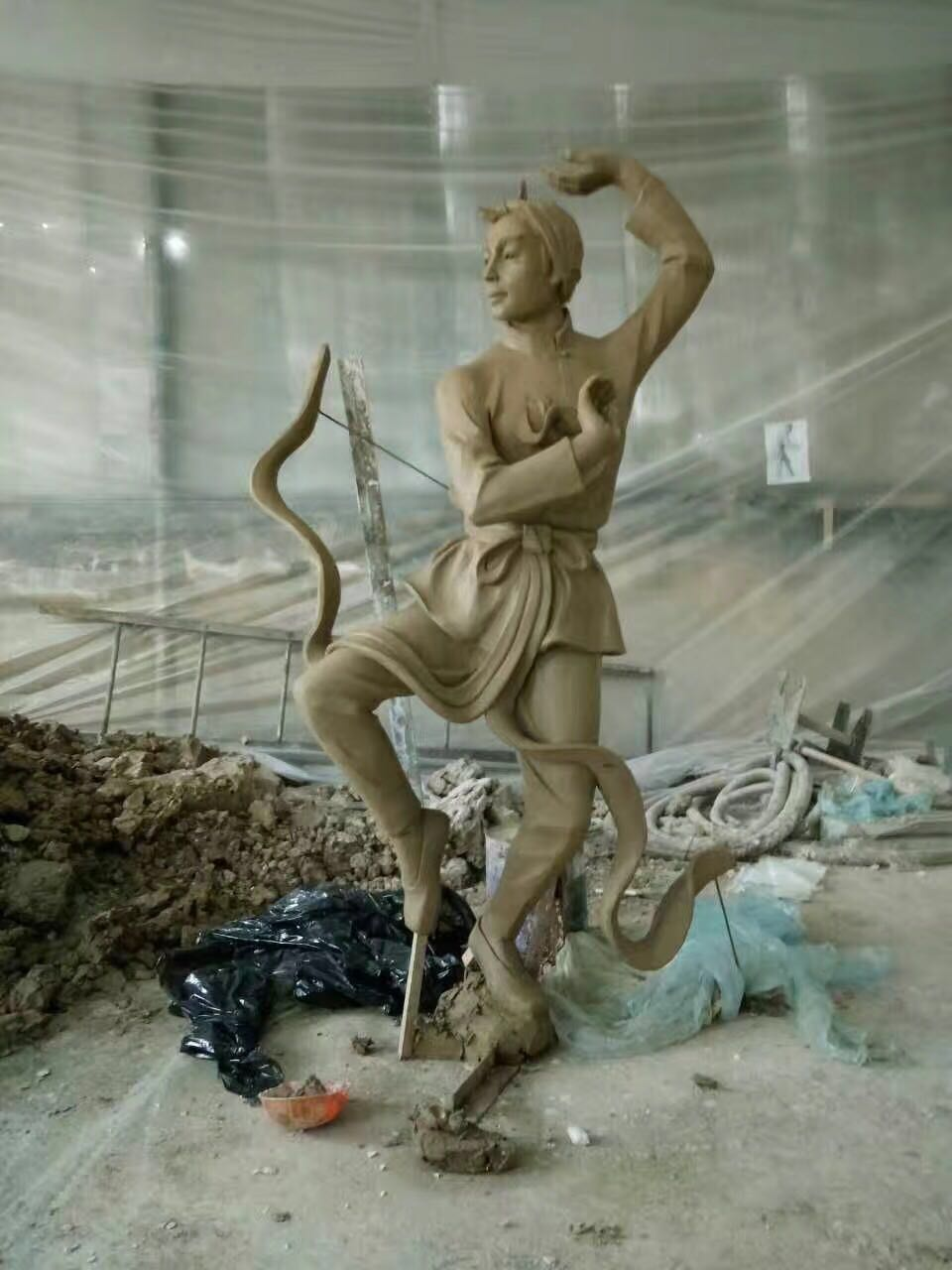 河南供应水泥雕塑制作、水泥雕塑生产厂家、水泥雕塑供应商河南水泥雕
