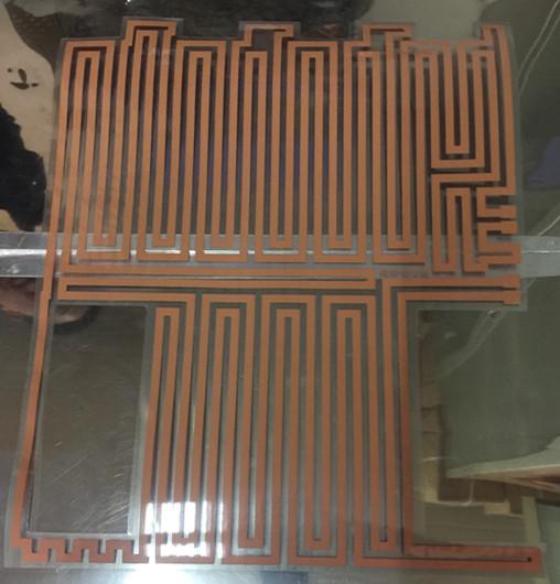 锂电池加热膜厂家低价直销定制供应电热膜电热片