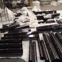 上海拉丝黑钛金不锈钢管201/304黑钛金不锈钢管批发