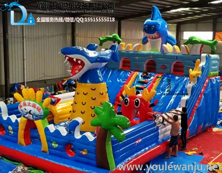 充气城堡_室外大型儿童乐园_大型商场设备充气蹦蹦床_充气大滑梯哪家
