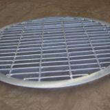 热镀锌钢格栅板井盖板|钢格板井盖