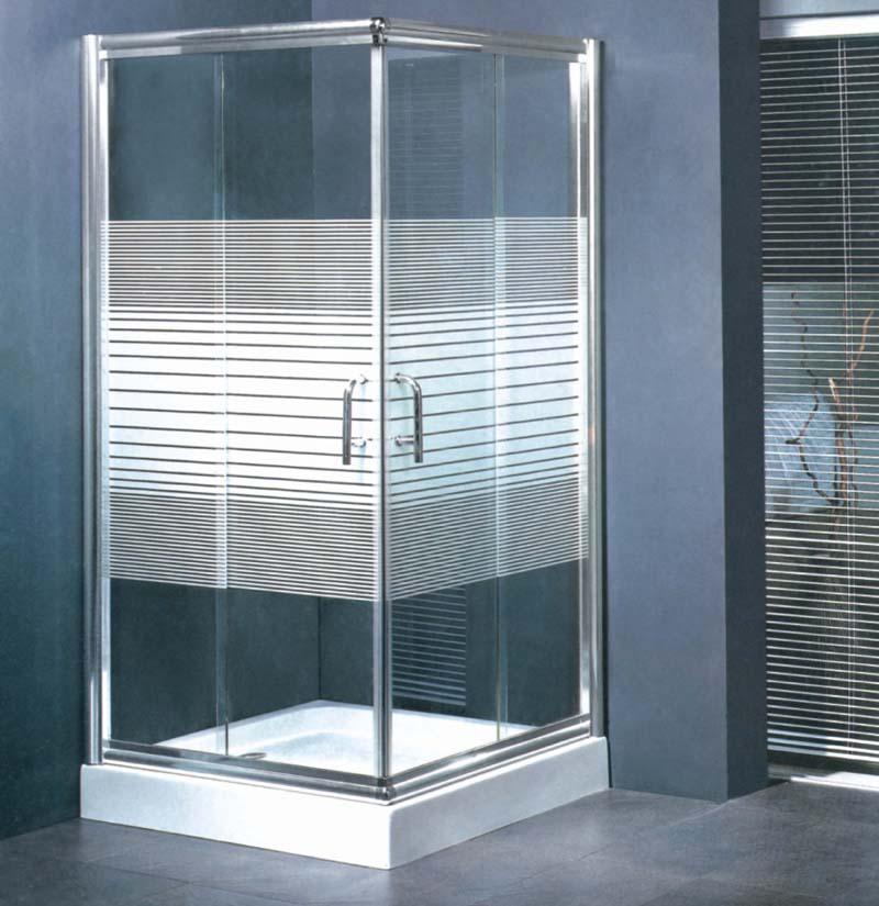 卫生间玻璃挡水门