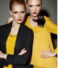 姿托丽深圳品牌女装尾货货源中年大码连衣裙春季新款打底上衣长袖批发