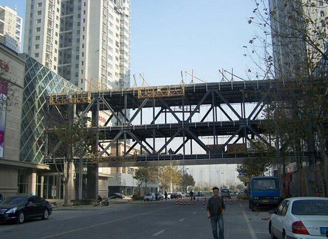 杭州钢结构天桥连廊供应商 天桥连廊设计
