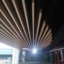 造型吊顶铝方通厂家图片