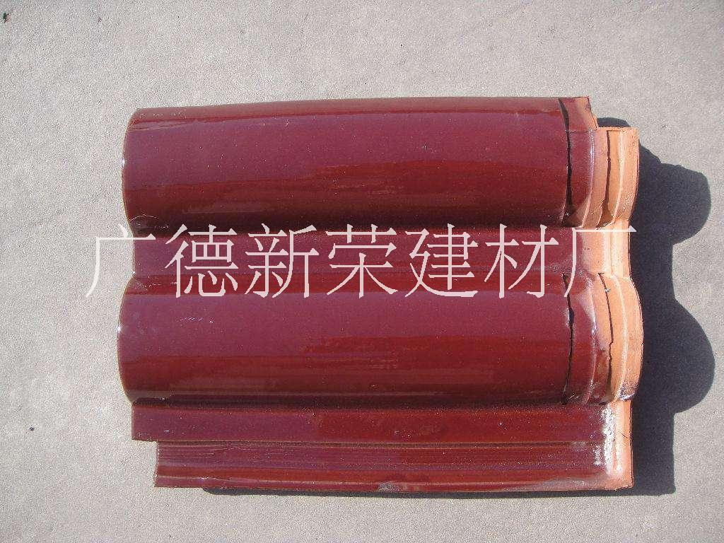 供应黄山优质双筒瓦生产商价格,巢湖玫红双筒瓦价格,芜湖玫红琉璃瓦