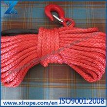 汽车绞盘绳拖车绳自驾游防护装备12股红色越野车绞盘绳拖车绳批发
