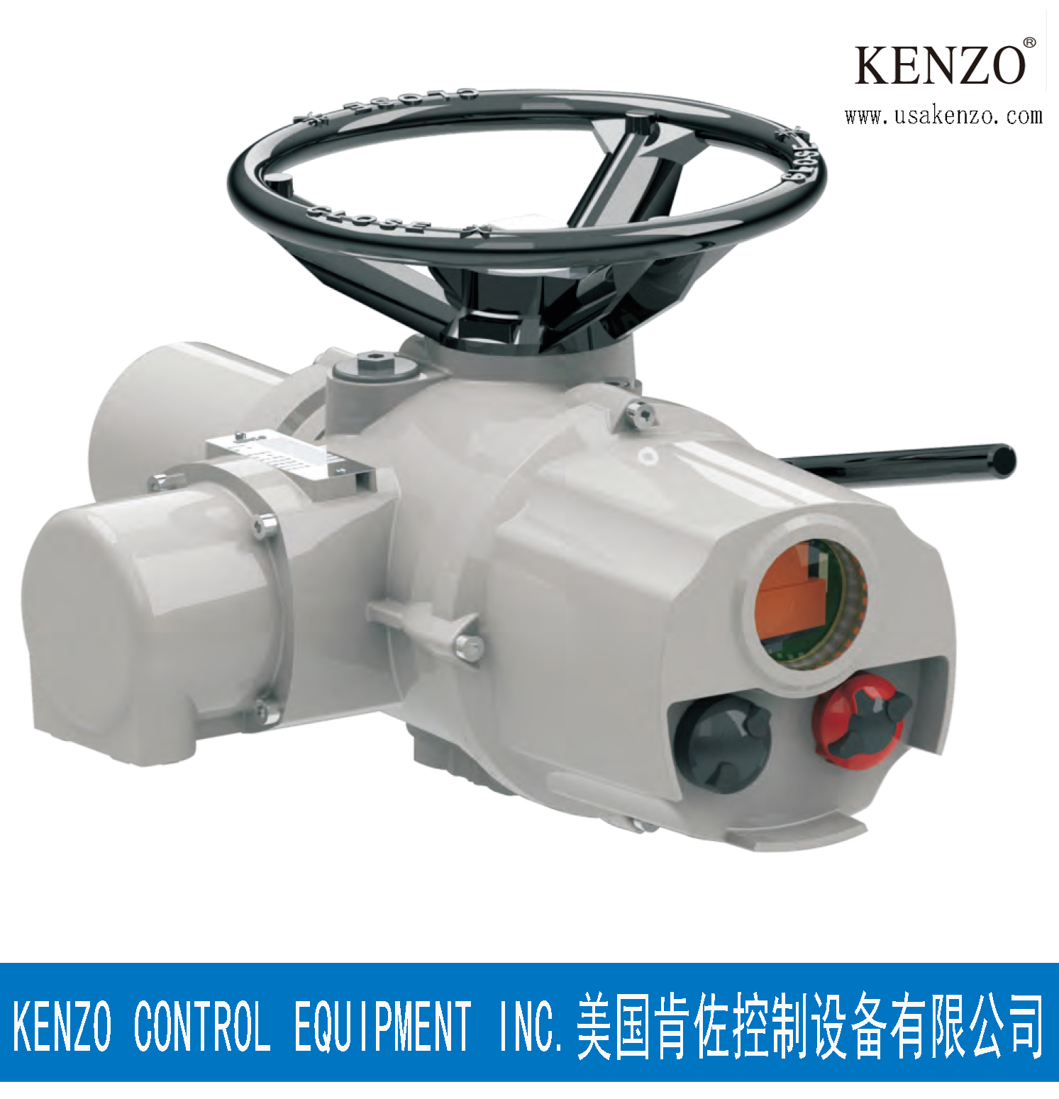 美国肯佐KENZO电动执行机构 美国KENZO肯佐智能型电动执行机构