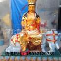 8米1米现货厂家批发 坐骑狮吼象文殊普贤菩萨阿里巴巴批发 彩绘树脂