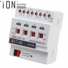 Sation/世讯供应2/4/6/8/12路开光执行器智能照明开关模块批发
