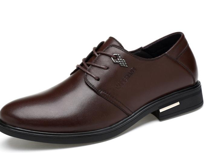 厂家直销 2017男士春季新款商务休闲皮鞋 头层真皮两穿鞋一件代发 一件代发