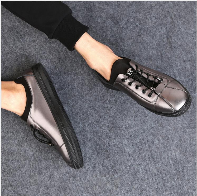 2017男士春季新款韩版板鞋销售