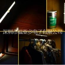 厂家直销20LED感应灯小夜灯厂家USB充电锂电池橱柜衣柜灯