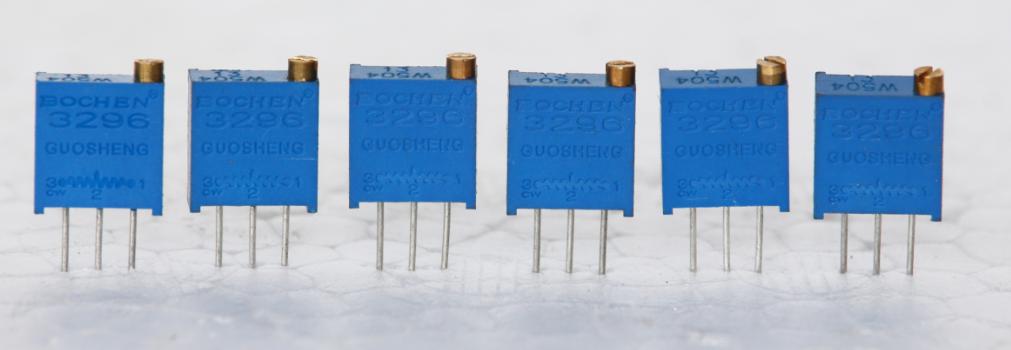 厂家直销博晨BOCHEN3296W-1-502LF,3296W顶调5K电位器,现货供应