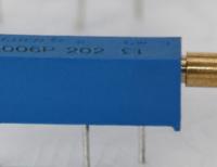 博晨BOCHEN3006P长柄7mm可调电位器,3006P长丝杆7mm