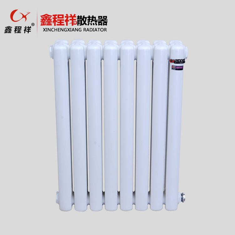 钢制柱形散热器批发 冷轧低碳钢制柱式水暖散热 钢制柱形散热器供应