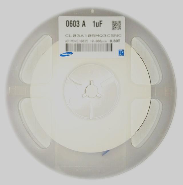 电子之家|CL03A105MQ3CSNC|1uF_±20%_6.3V_X5R_0201贴片电容大批量供应