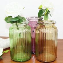 特价玻璃花瓶 彩色干花花瓶 家居 徐州玻璃花瓶 彩色干花花瓶 家居