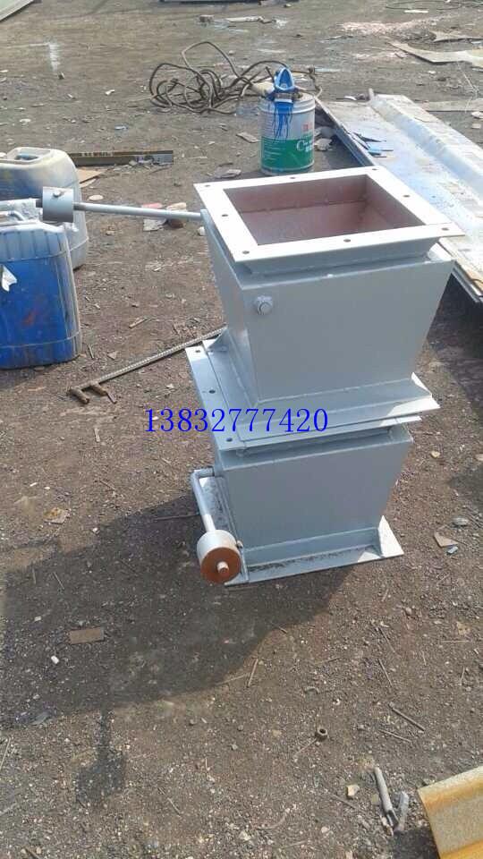 厂家供应单层双层重锤翻板阀 翻板阀厂家直 卸灰阀生产 除尘器配件