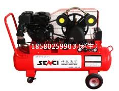 自动启停汽油动力皮带式空压机/重庆北碚空压机/空压机战斗机