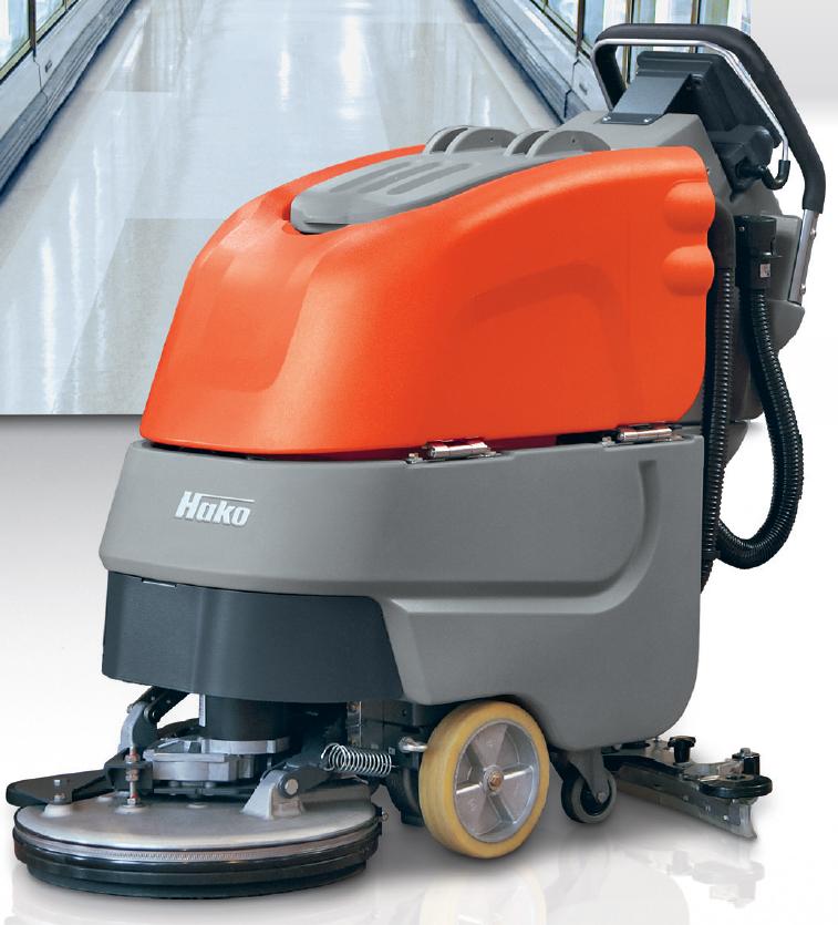 德国哈高B30/45洗地机 哈高B30/45小型手动洗地机 哈高B30/45小型手动洗地机
