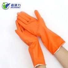 家用工业手套 防水防油家务清洁手套厨房洗碗洗衣服乳胶橡胶手套批发