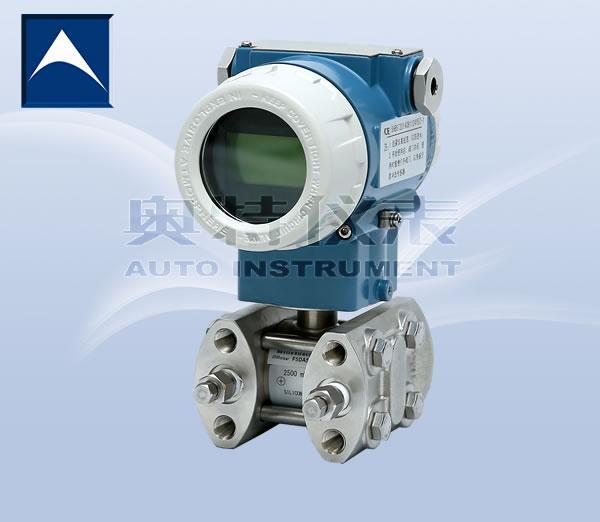奥特厂家直供西南地区四川高精度0.075%差压/微差压变送器单晶硅传感器气压液压 高精度差压/微差压变送器