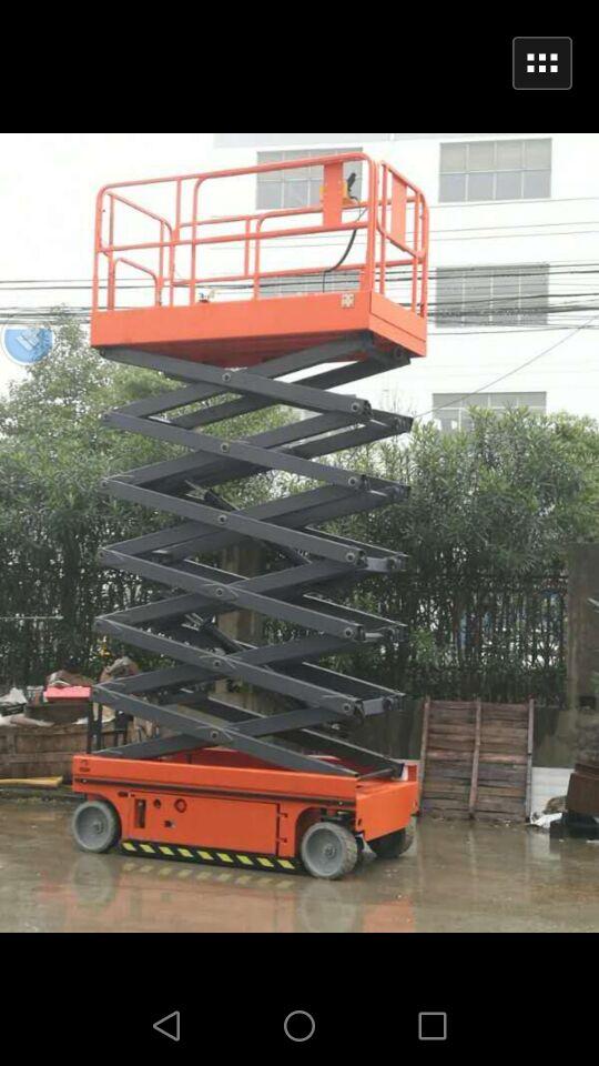 工厂直销16米18米升降机货梯 移动剪叉式升降台电动液压升降货梯小型家用简易电梯