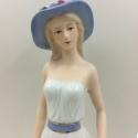 欧式西洋美女 陶瓷工艺品现代家居摆件 创意装饰品礼品最可爱的人